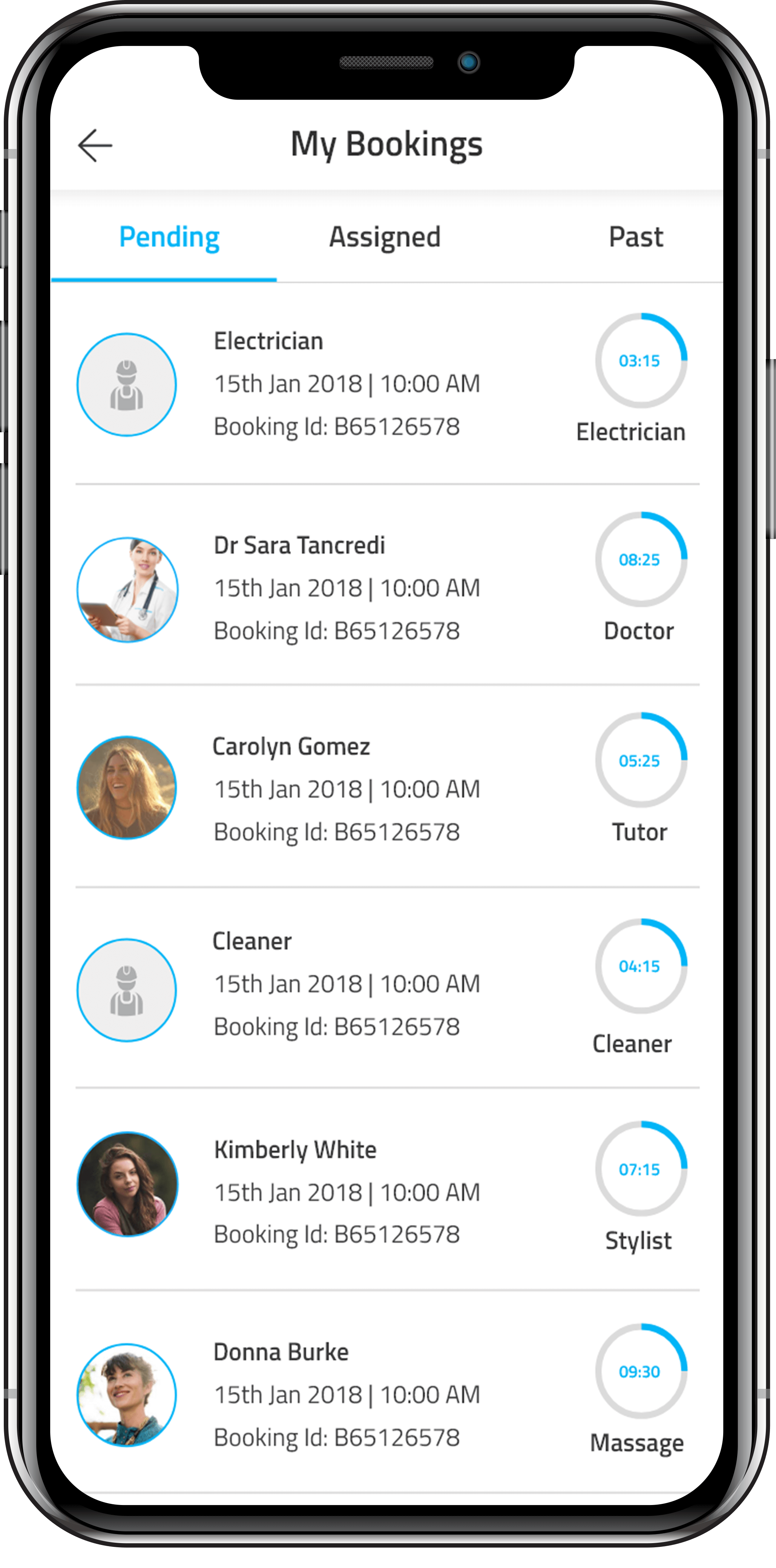 On Demand Services App