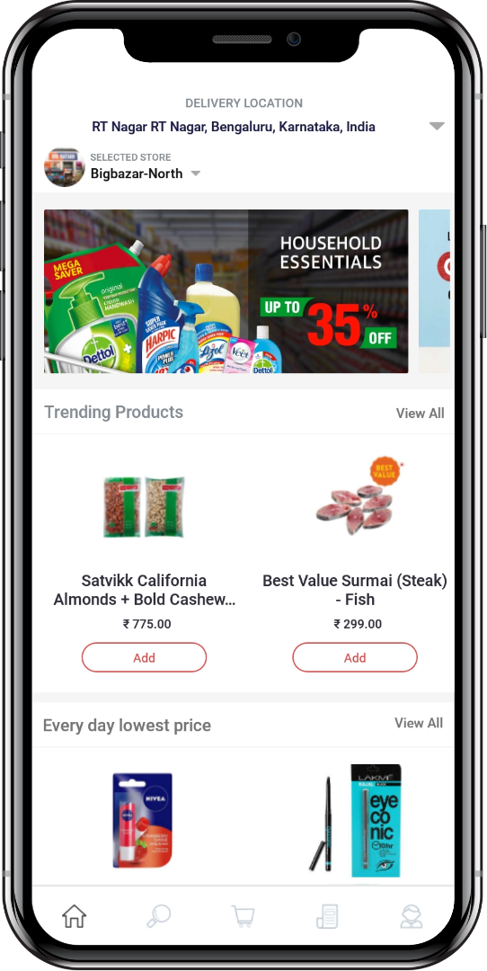 Instacart Clone Boxed Clone by Appscrip - Grocer