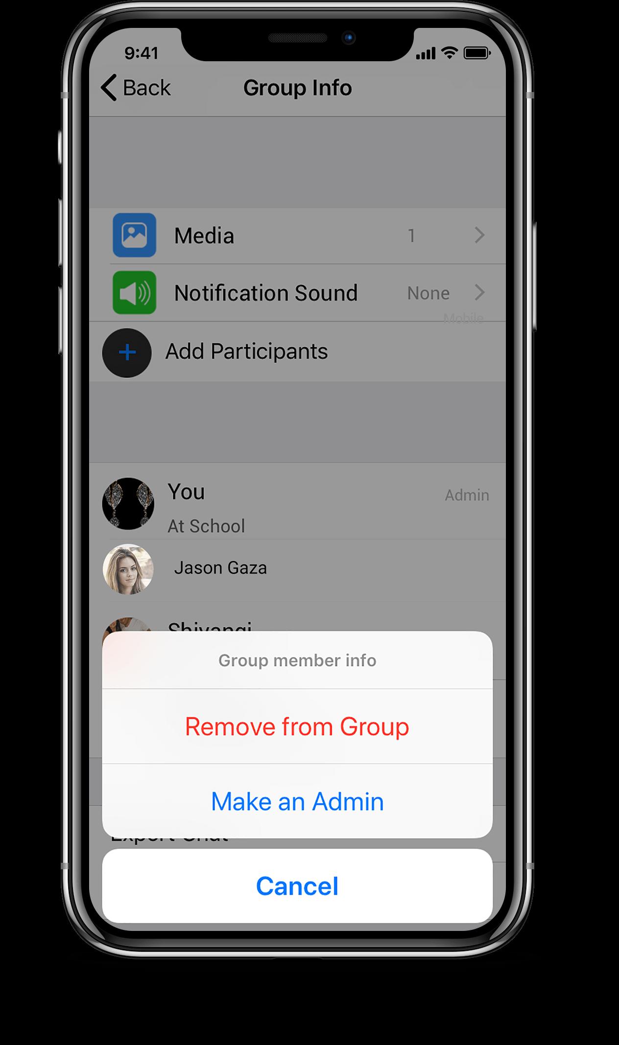Chatting app script