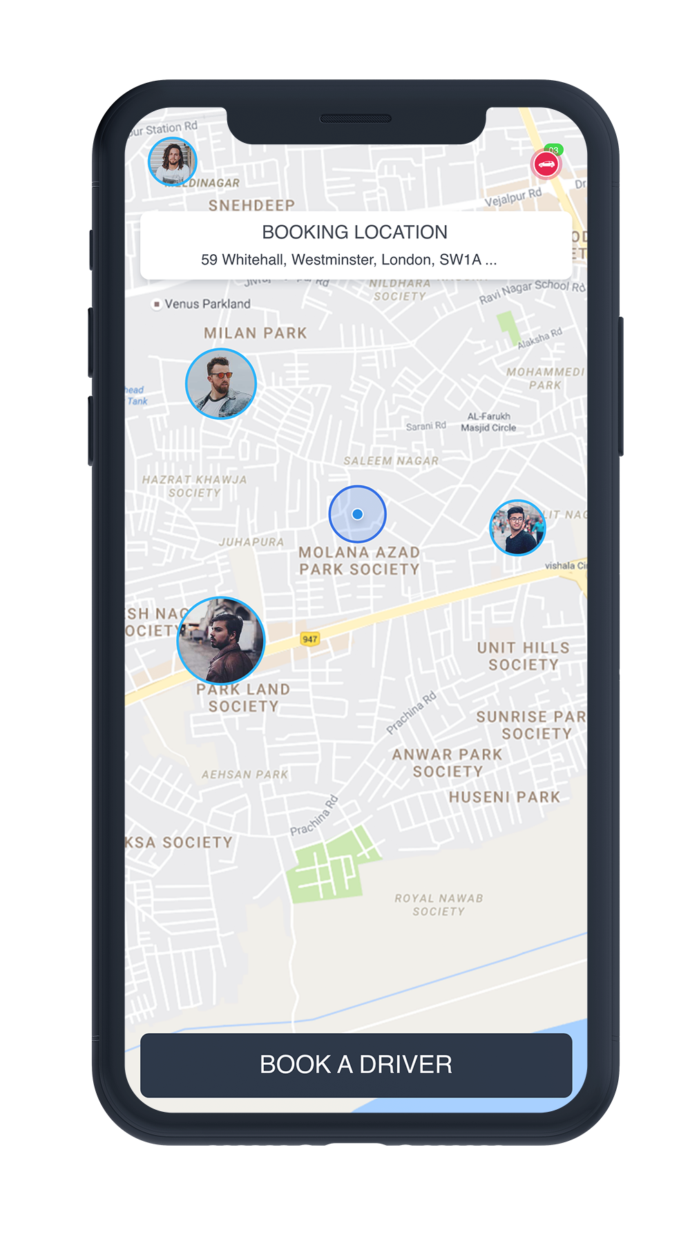 Uber for Designated Driver App & Designated Driver Software
